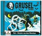 Gruselserie - Yeti - Kreatur aus dem Himalaya, 1 Audio-CD