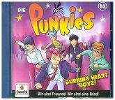Die Punkies - Burning Hearz Boyz, 1 Audio-CD