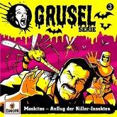 Gruselserie - Moskitos - Anflug der Killer-Insekten, 1 Schallplatte