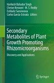 Secondary Metabolites of Plant Growth Promoting Rhizomicroorganisms