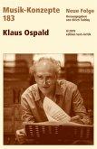 Klaus Ospald / Musik-Konzepte (Neue Folge) 183