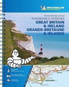 Michelin Straßenatlas Großbritannien & Irland mit Spiralbindung