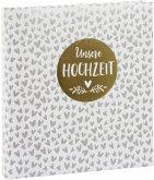 Goldbuch 1000 Hearts 30x31 60 weiße Seiten Hochzeit 08153