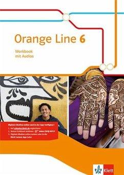 Orange Line 6. Workbook mit Audio-CD Klasse 10