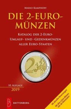 Die 2-Euro-Münzen - Kamphoff, Mario