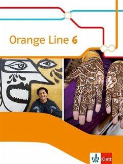 Orange Line 6. Schülerbuch (flexibler Einband) Klasse 10