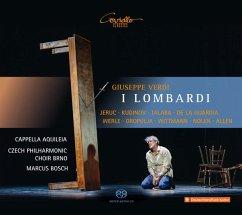 I Lombardi (Oper In 4 Akten) - Jeruc/Kudinov/Bosch/Cappella Aquileia/Czech Philh.