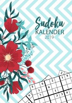 Sudoku Kalender 2019 - Terminkalender & Planer 2019 mit über 90 kniffligen Rätseln