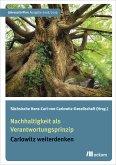 Nachhaltigkeit als Verantwortungsprinzip (eBook, PDF)