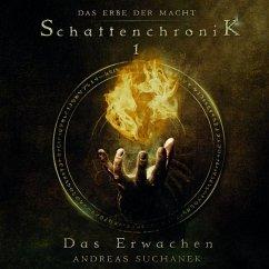 Schattenchronik 1: Das Erwachen / Das Erbe der Macht Bd.1-3 (2 MP3-CDs) - Suchanek, Andreas