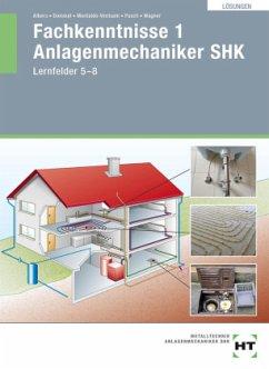 Lösungen Fachkenntnisse 1 Anlagenmechaniker SHK - Albers, Joachim; Dommel, Rainer; Montaldo-Ventsam, Henry; Pusch, Peter; Wagner, Josef