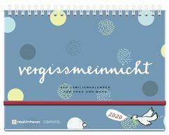 vergissmeinnicht 2020 - Der Familienkalender für Hand und Wand - Brudereck, Katharina