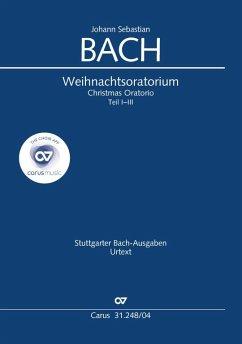 Weihnachtsoratorium (Klavierauszug deutsch) - Bach, Johann Sebastian