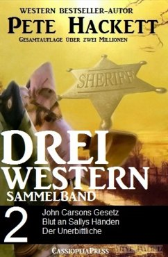 Pete Hackett - Drei Western, Sammelband 2 (eBook, ePUB) - Hackett, Pete