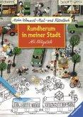 Mein Wimmel-Mal- und Rätselbuch: Rundherum in meiner Stadt (Mängelexemplar)