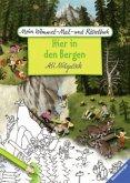 Mein Wimmel-Mal- und Rätselbuch: Hier in den Bergen (Mängelexemplar)
