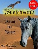 Leseprobe: Wüstensand - Verrat der Wüste (eBook, ePUB)