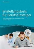 Einstellungstests für Berufseinsteiger - inkl. Arbeitshilfen online (eBook, PDF)