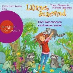 Drei Waschbären sind keiner zu viel / Liliane Susewind ab 6 Jahre Bd.8 (MP3-Download) - Stewner, Tanya; Jablonski, Marlene