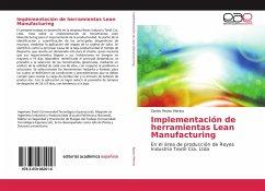 Implementación de herramientas Lean Manufacturing