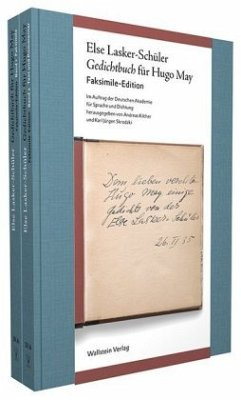 Gedichtbuch für Hugo May - Lasker-Schüler, Else
