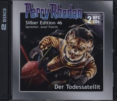 Perry Rhodan Silber Edition - Der Todessatellit, 2 MP3-CDs - Darlton, Clark; H. G., Ewers