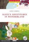 Alice's Adventures in Wonderland, w. Audio-CD