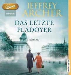 Das letzte Plädoyer, 2 MP3-CD - Archer, Jeffrey