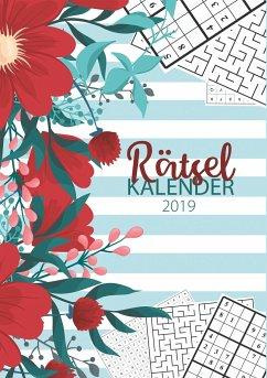 Der Rätsel Kalender 2019 - Terminplaner und Monatskalender mit 90 Rätseln