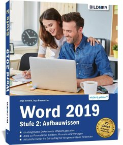 Word 2019 - Stufe 2: Aufbauwissen - Schmid, Anja; Baumeister, Inge