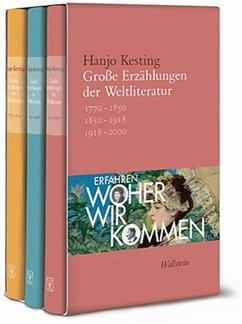 Große Erzählungen der Weltliteratur - Kesting, Hanjo