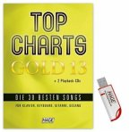 Top Charts Gold, m. 2 Audio-CDs + Midifiles, USB-Stick