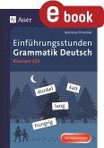 Einführungsstunden Grammatik Deutsch 5-6 (eBook, PDF)