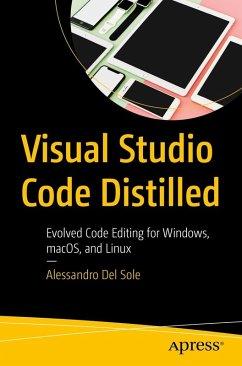 Visual Studio Code Distilled (eBook, PDF) - Del Sole, Alessandro