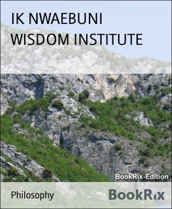 WISDOM INSTITUTE (eBook, ePUB) - Nwaebuni, Ik