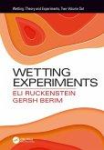 Wetting Experiments (eBook, PDF)