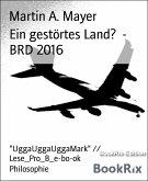 Ein gestörtes Land? - BRD 2016 (eBook, ePUB)