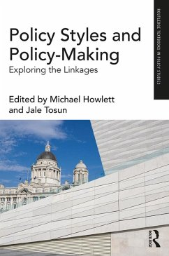 Policy Styles and Policy-Making (eBook, PDF)