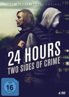 24 Hours-Two Sides Of Crime (4 DVDs) - Decleir,Sophie/De Wolf,Lukas/De Voogdt,Titus