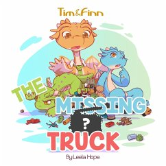 Tim and Finn the Dragon Twins: The Missing Truck (Bedtime childrens books for kids, early readers)