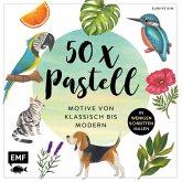 50 x Pastell - Motive von klassisch bis modern