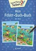Die verflixten Sieben - Mein Fehler-Such-Buch - Am Meer