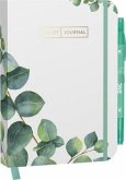"Bullet Journal ""Leaves"" 05 mit original Tombow TwinTone Dual-Tip Marker 86 mint green"
