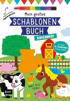 Mein großes Schablonen-Buch - Bauernhof - Golding, Elizabeth