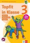 Topfit in Klasse 3 - Deutsch, Mathematik und Englisch. Übungsbuch