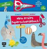 Mein erstes Papierschneidebuch - Im Zoo - Mit Kinderschere