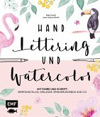 Handlettering und Watercolor