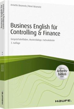 Business English für Controlling & Finance ¿ inkl. Arbeitshilfen online - Bosewitz, Annette; Bosewitz, René
