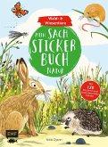 Mein Sach-Stickerbuch Natur - Wald- und Wiesentiere