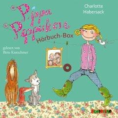 Pippa Pepperkorn Hörbuch-Box, 5 Audio-CDs - Habersack, Charlotte